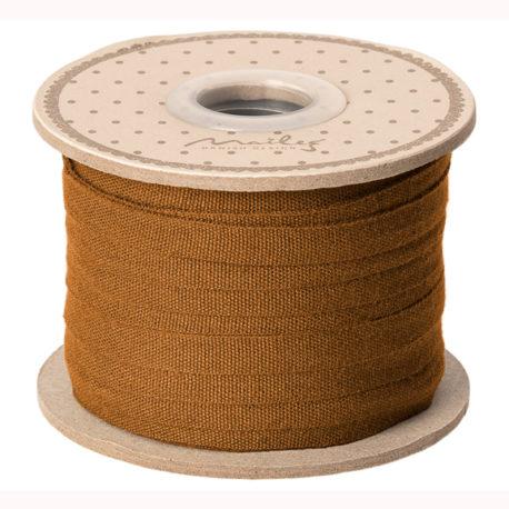 ruban maileg ocre 19-0225-00 ribbon 25 m ocher