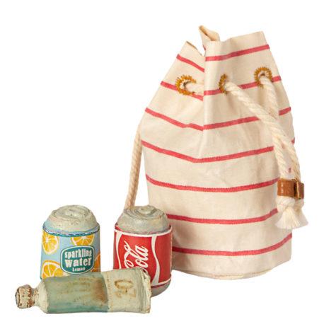 sac de plage maileg bag w beach essentials 11-1305-00 B