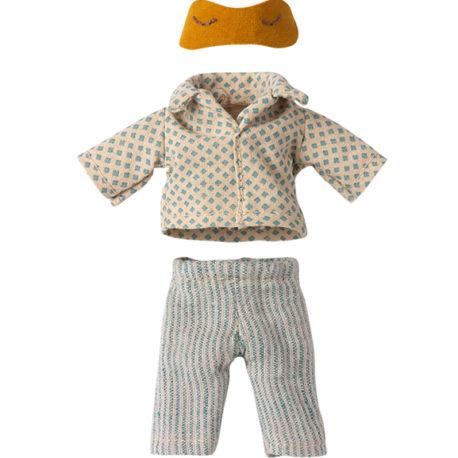 vetement maileg souris micro pyjama papa 16-1740-03