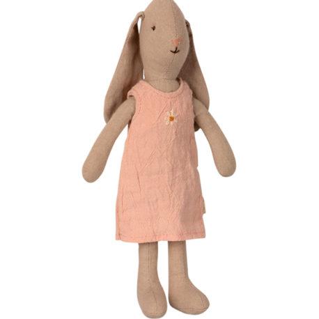 lapin bunny maileg T1 en robe rose 16-1100-00