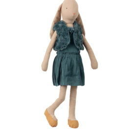 Ballerine Bunny Maileg – T5 – Petrole – Lapin 66 cm