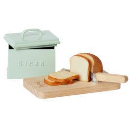 Boîte à pain Maileg Miniature et accessoires