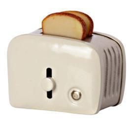 Miniature Toaster Maileg Blanc avec Pain