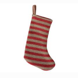 Mini Chaussette de Noël Maileg Rouge – Haut 8 cm