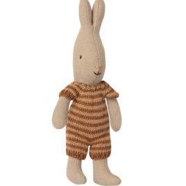 Micro LAPIN Maileg Rabbit – Tricot Ocre – 16 cm