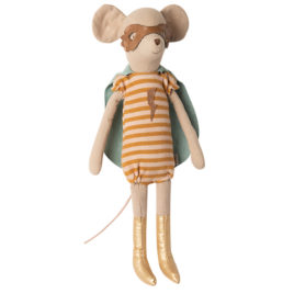 SOURIS Maileg Super Héros Girl Medium – 31 cm