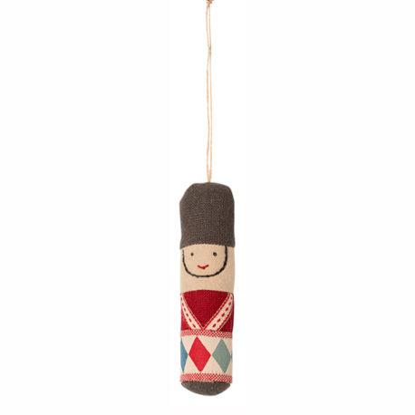 ornement decoratif maileg garde rouge