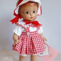 poupée effanbee patsy 1996 avec sa boîte