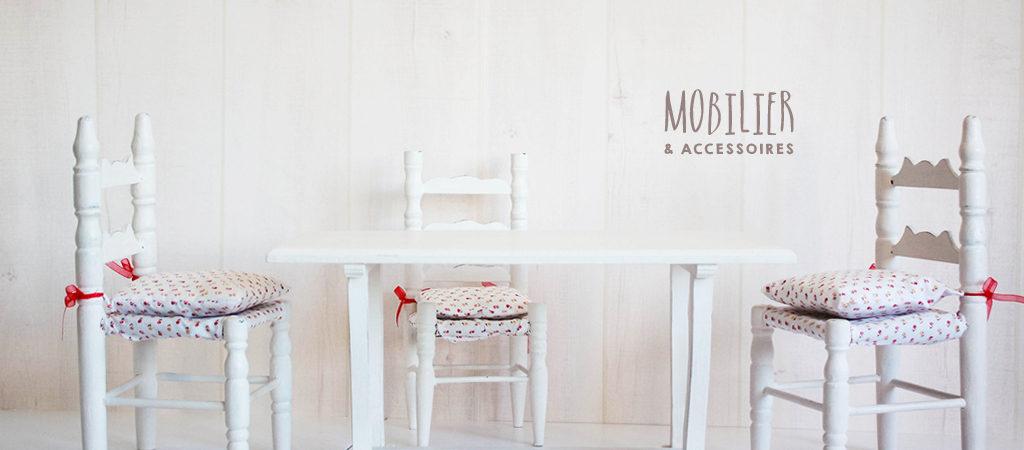 boutique blebys - mobilier de poupées - mobilier pour poupées - petit mobilier jouets