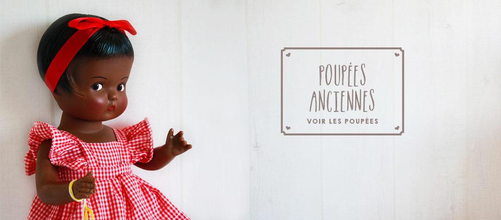 boutique blebys - poupées anciennes - poupées d'antan - poupées de collection
