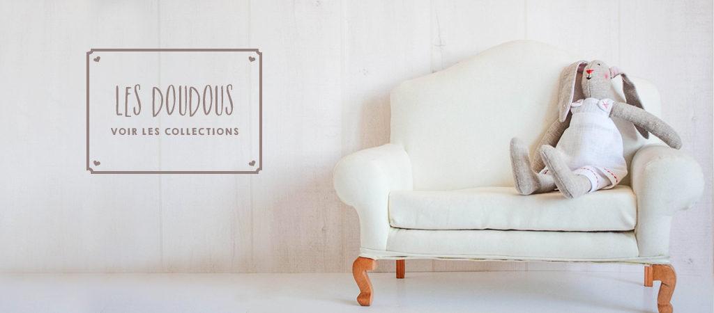 boutique blebys - lapins tilda - doudous