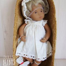 poupée SASHA bébé blond