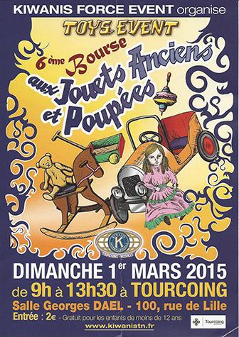 Bourse aux Jouets Anciens 2015 Tourcoing