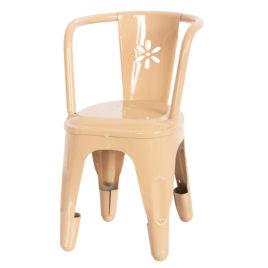 chaise métal MAILEG rose poudré