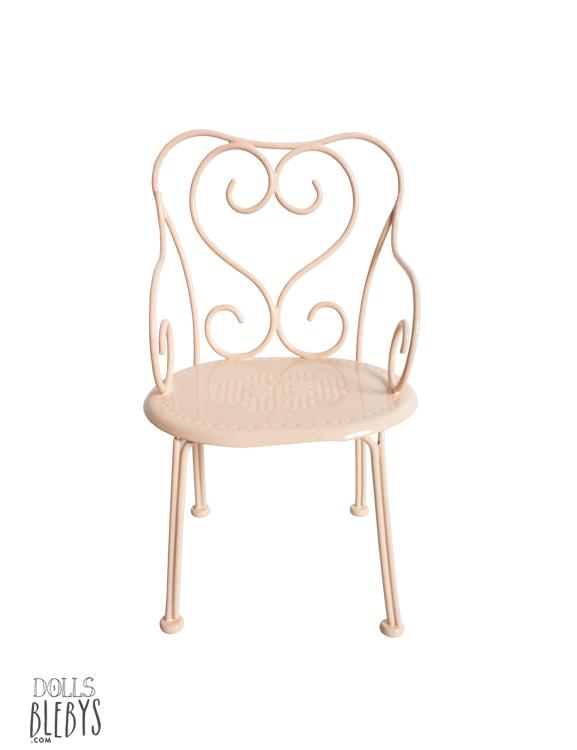 Chaise de café Maileg en métal - Blebys