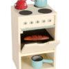 cuisinière MAILEG en bois pour souris