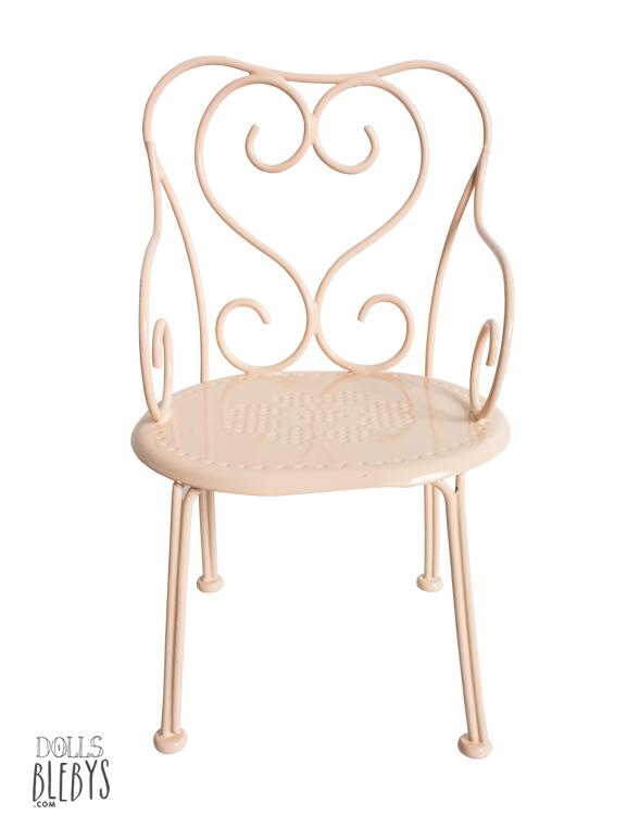chaise de caf maileg en m tal blebys. Black Bedroom Furniture Sets. Home Design Ideas