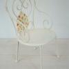 mobilier de jardin MAILEG chaise blanche