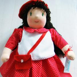 poupée WALDORF prénommée Louisa