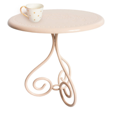 table de café MAILEG rose poudré