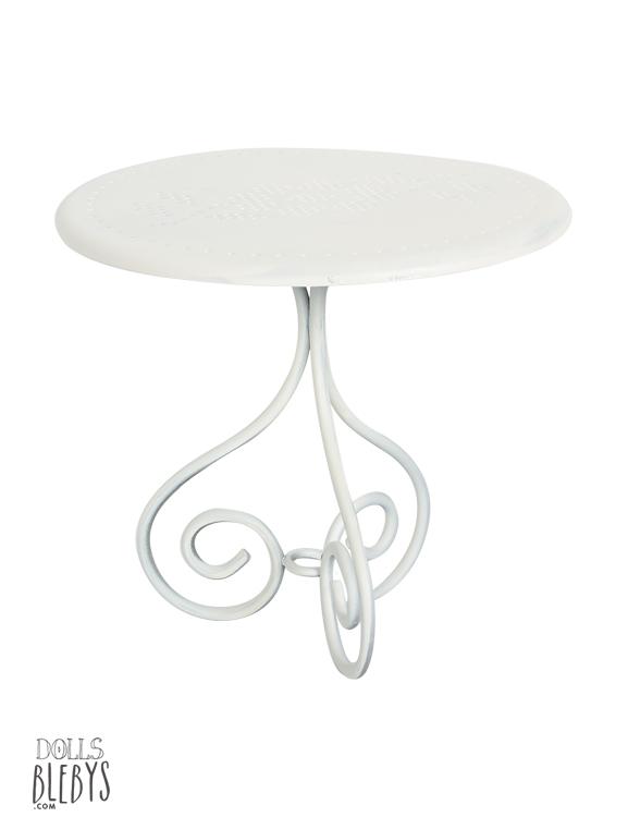 Table De Jardin Romantique Metal Des Id Es