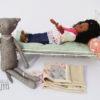 lit métal MAILEG pour poupée jusque 43 cm