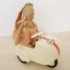Scooter MAILEG avec lapin Princesse Mini 23 cm