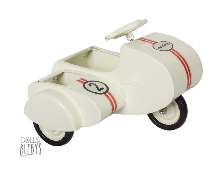 Scooter sidecar Maileg métal - Blebys