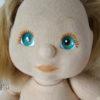 mattel my child détails visage yeux bleus