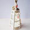MAILEG chaise haute avec bébé lapin fille