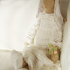 robe de mariée MAILEG sur lapin Nurse Infirmière