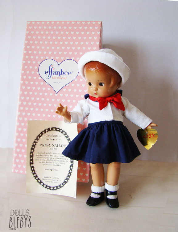 PATSY marin poupée ancienne 1997