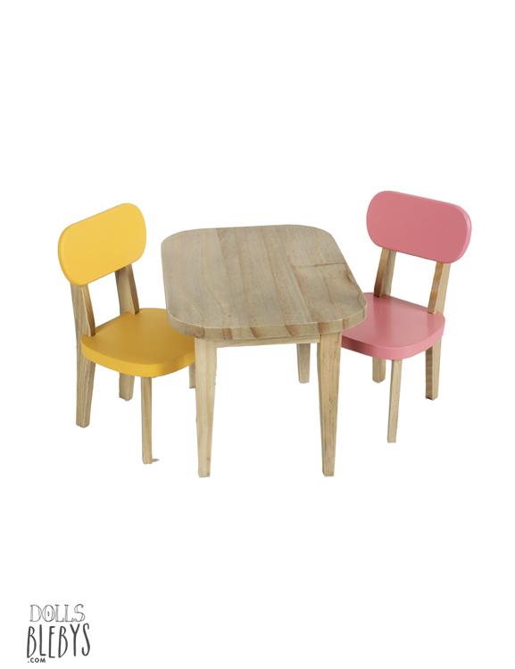 table et chaises poupée MAILEG