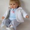 poupée poupon 48 cm souple doux et léger