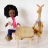 table et chaises MAILEG pour poupées