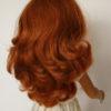 SASHA doll redhead 108 cheveux longs roux et ondulés