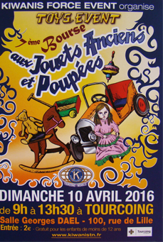 Bourse aux Jouets Anciens Tourcoing 2016