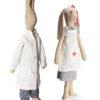 MAILEG lapins docteur et nfirmière