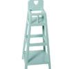 MAILEG chaise haute bébé bleue