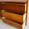 commode bois poupées 1950 tiroirs et penderie