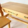 mobilier poupées bois décoré
