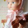 poupée PATSY 1986 avec son petit ours