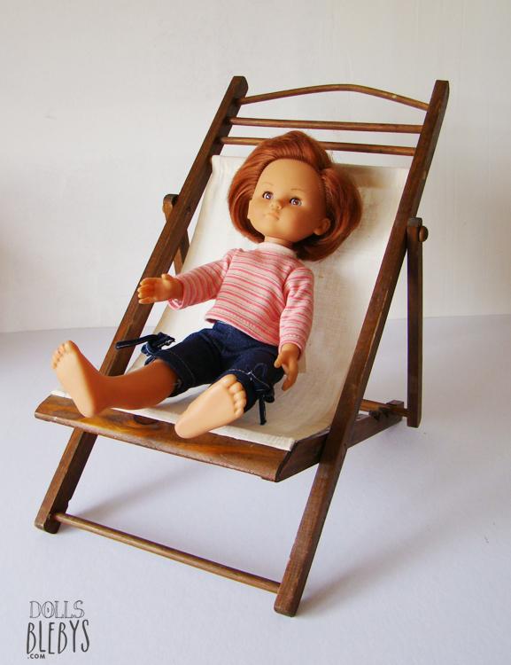 transat en bois mod le ancien blebys. Black Bedroom Furniture Sets. Home Design Ideas