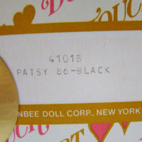 PATSY BLACK boîte