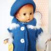 poupée PATSY WINTER Hiver bleu