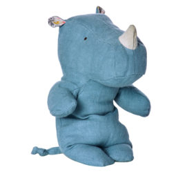 maileg-rhino-little-safari-friends-22-cm-bleu-ciel