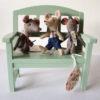 maileg-souris-aimantees-souris-mouse-race-et-banc-maileg-en-bois-vert