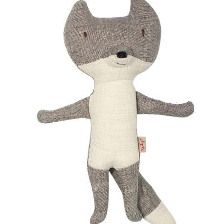 loup maileg gris 33 cm wolf maileg