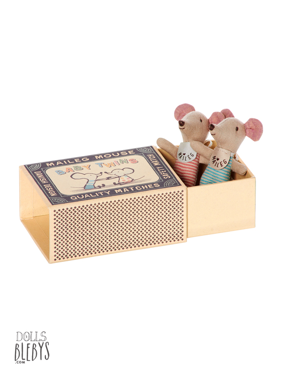 maileg souris bebes avec boite et couchage