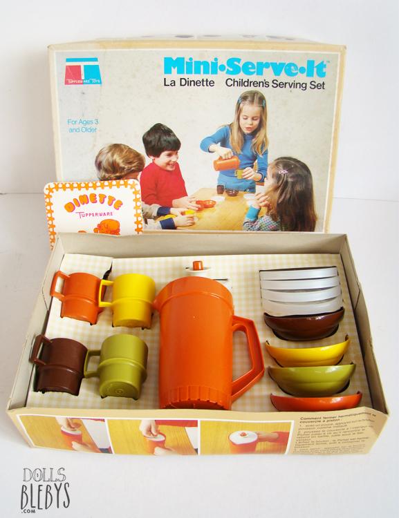 dinette tupperware jouet ancien